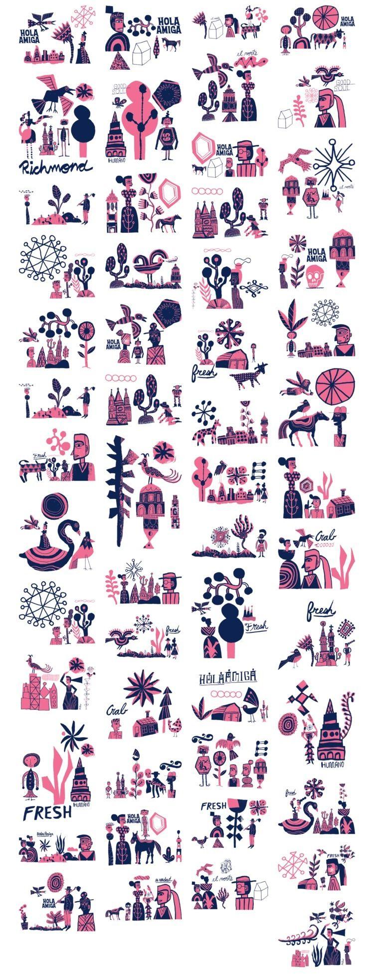 images composition generator - illustration - n8wn8w | ello