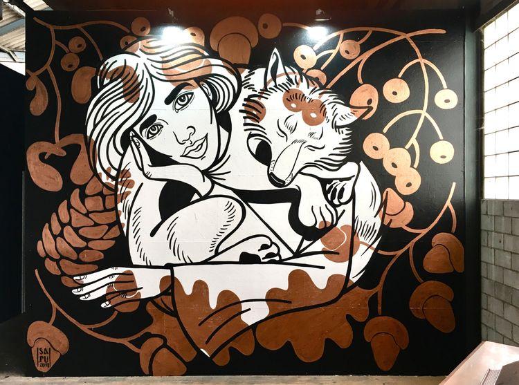 Walldesign graffiti shop Dosend - safu_one | ello