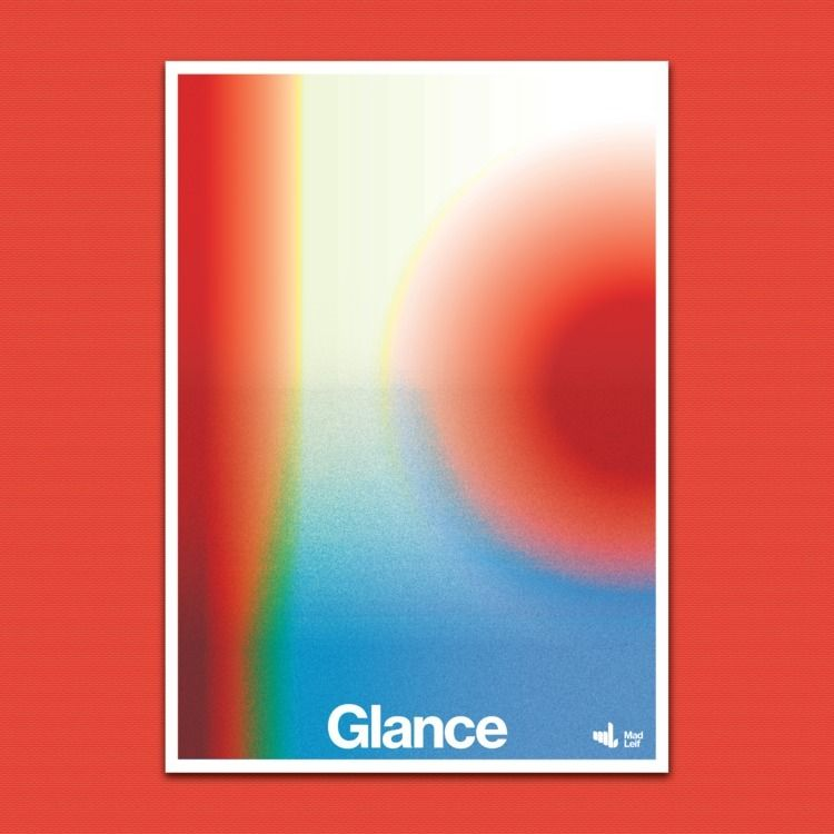 Glance  - poster, posterdesign, graphicdesign - madleif | ello