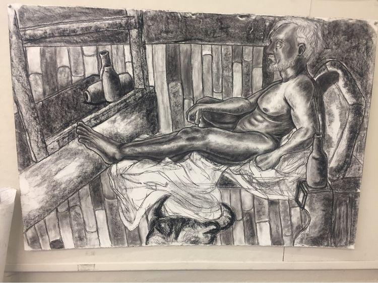 class drawing 2 alot - art, traditionalart - sleepyslothboi | ello