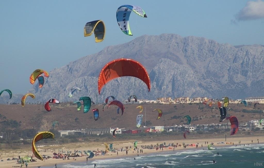 Kitesurfing beach Los Lances Ta - tarifa | ello