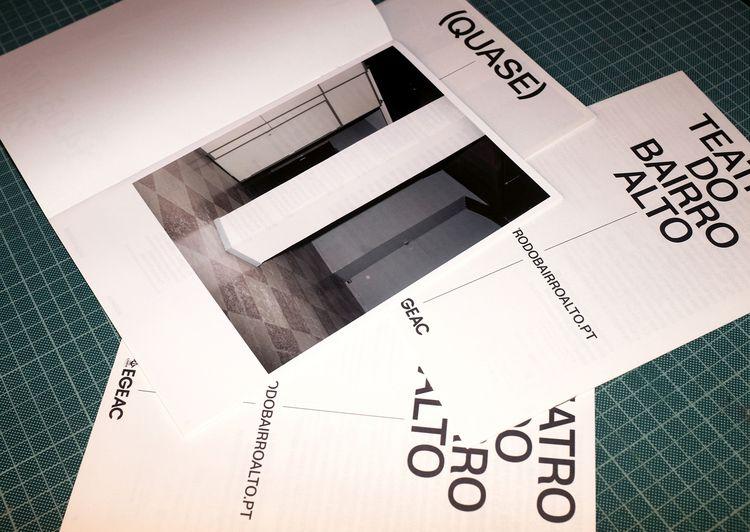 Programme brochure (Quase) Teat - nonverbalclub | ello