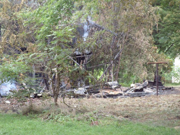 Arsonist burns house Piedmont,  - i_phish | ello