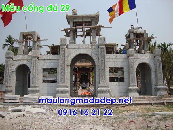 cổng nhà thờ họ đình chùa đẹp b - chipboong | ello