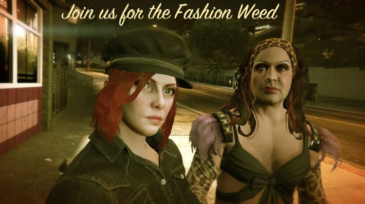 Fashion Weed - oneshadeofred | ello