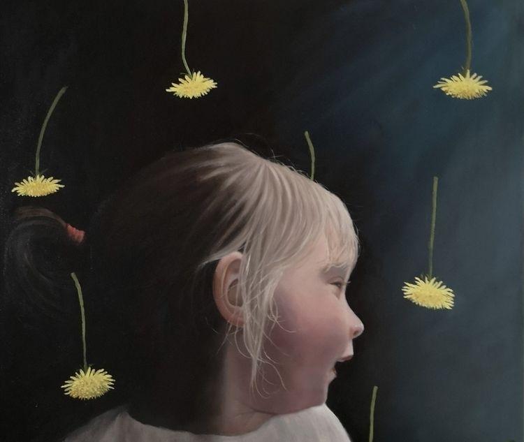 Oil canvas. 60 70 cm - hannefeldt | ello