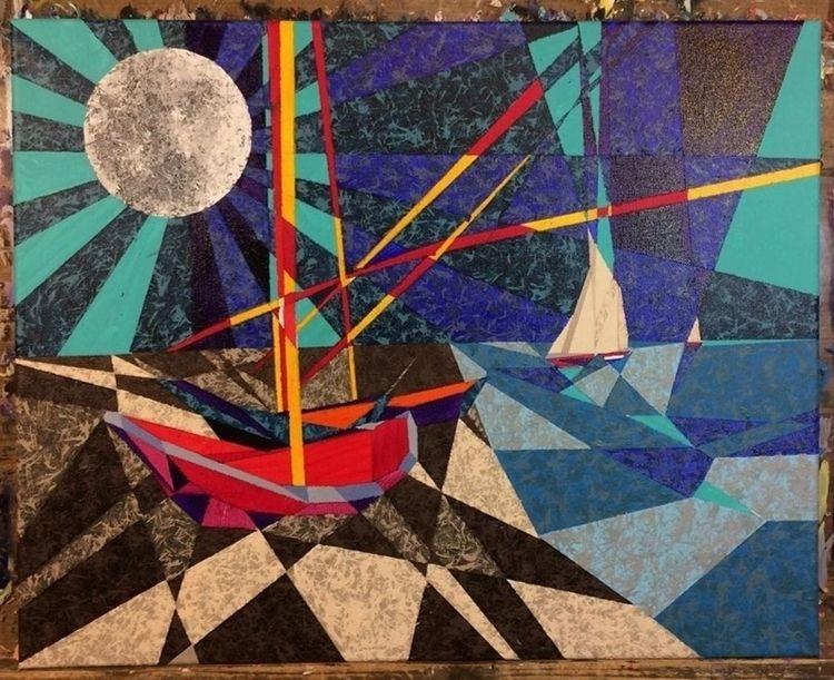 cubism, modernart, splatter, geometrical - cubistaz   ello