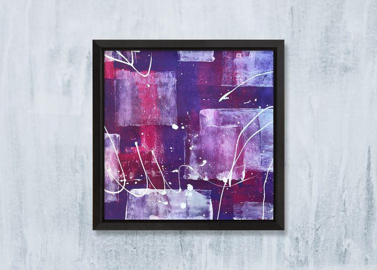 Abstract acrylic painting braye - emberstudio | ello