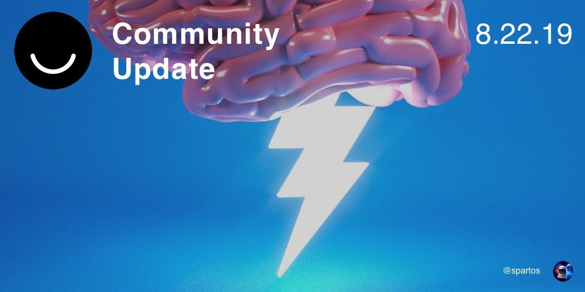 Community Update 8/22/2019 pret - elloblog | ello