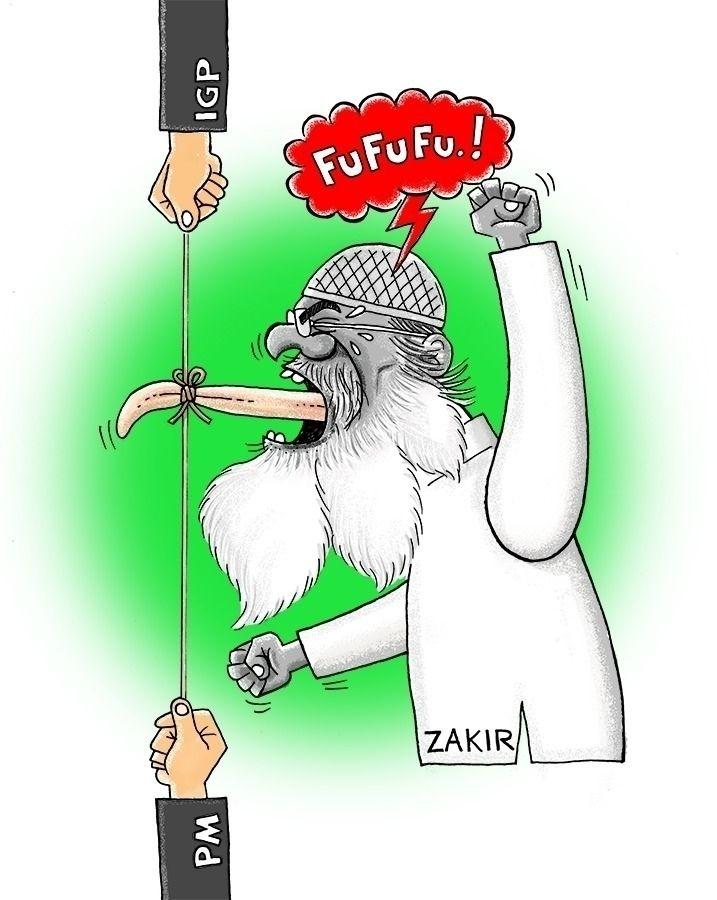 Castrated - art, cartoon, caricature - paulchoo | ello