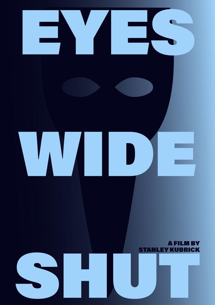 Film poster Eyes Wide Shut (199 - mathieuvancamp | ello
