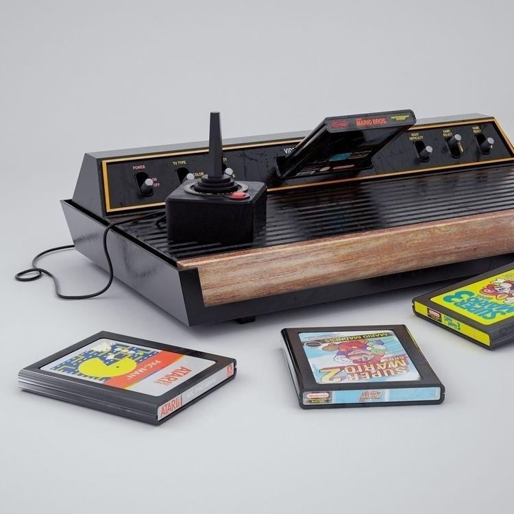 Atari 2600 works Facebook · Ins - camilociprian | ello