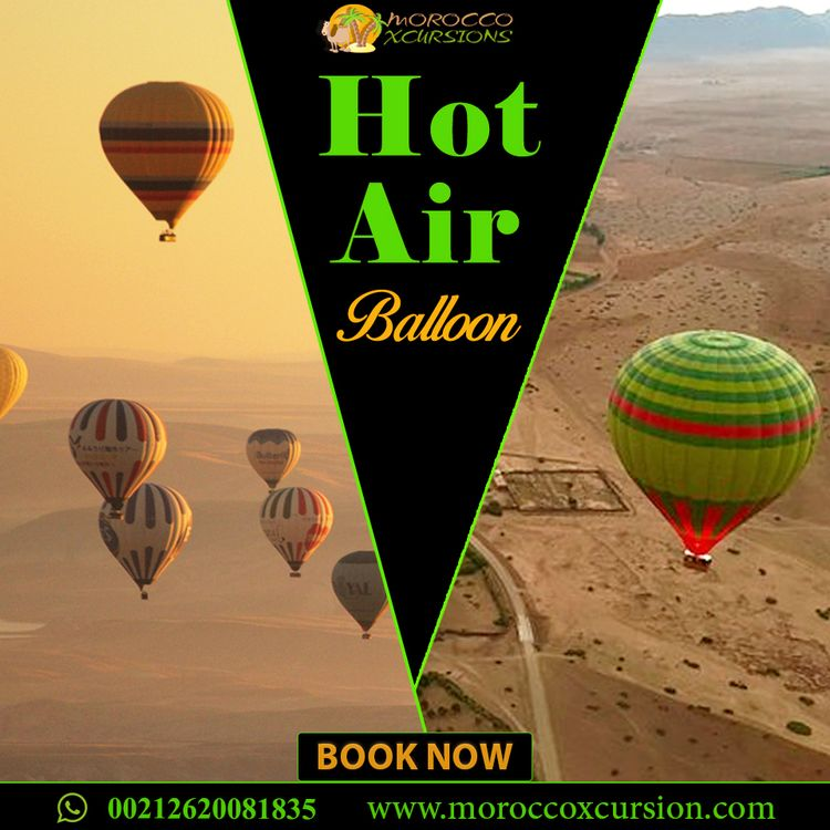 Hot air balloon tours Marrakech - mxcursion | ello