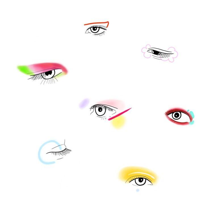 Euphoria makeup (Jules)  - euphoria - margoshmargo | ello