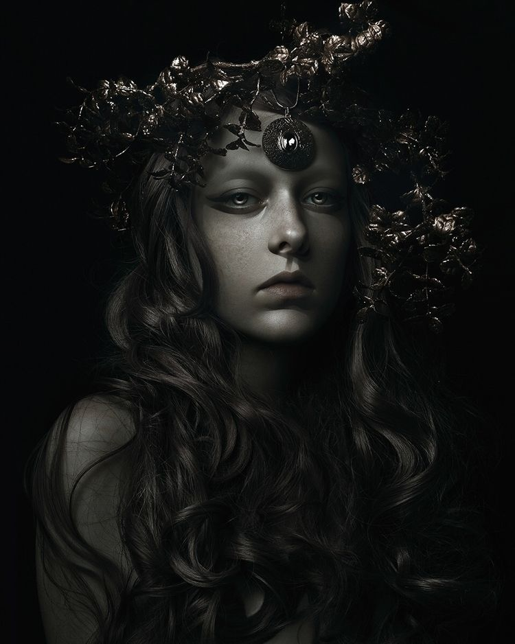 """Artemis"" – Photographer/Model - darkbeautymag 