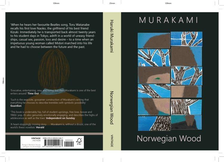 redesign book Norwegian Wood. l - drewrobinson | ello