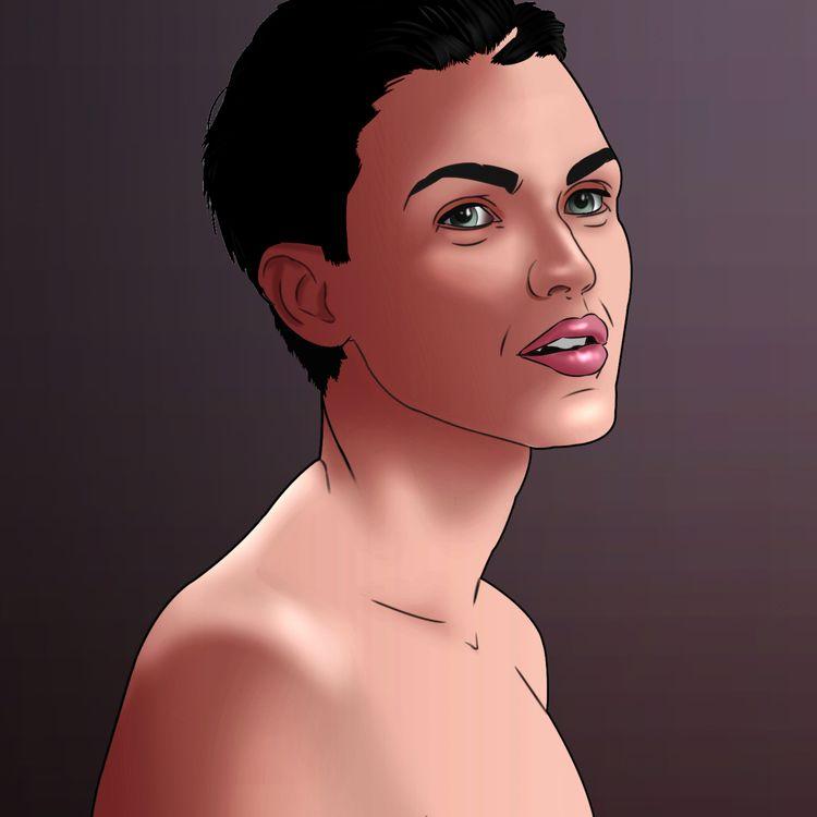 Ruby Rose, Illustration - artisancta | ello