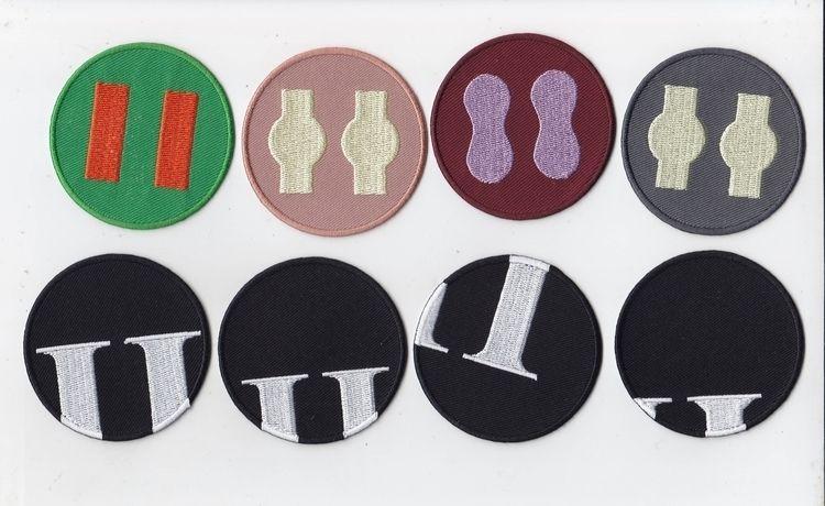 Patches, limited 50 pieces / de - blundlund | ello