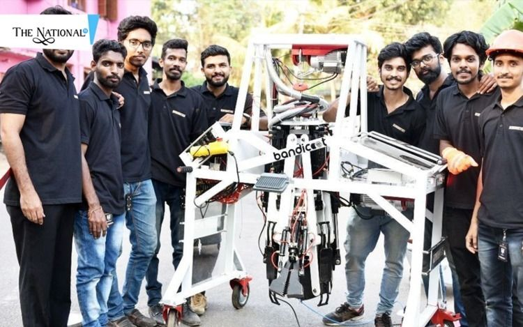 sewer cleaning robot, invented  - thenationaltv | ello