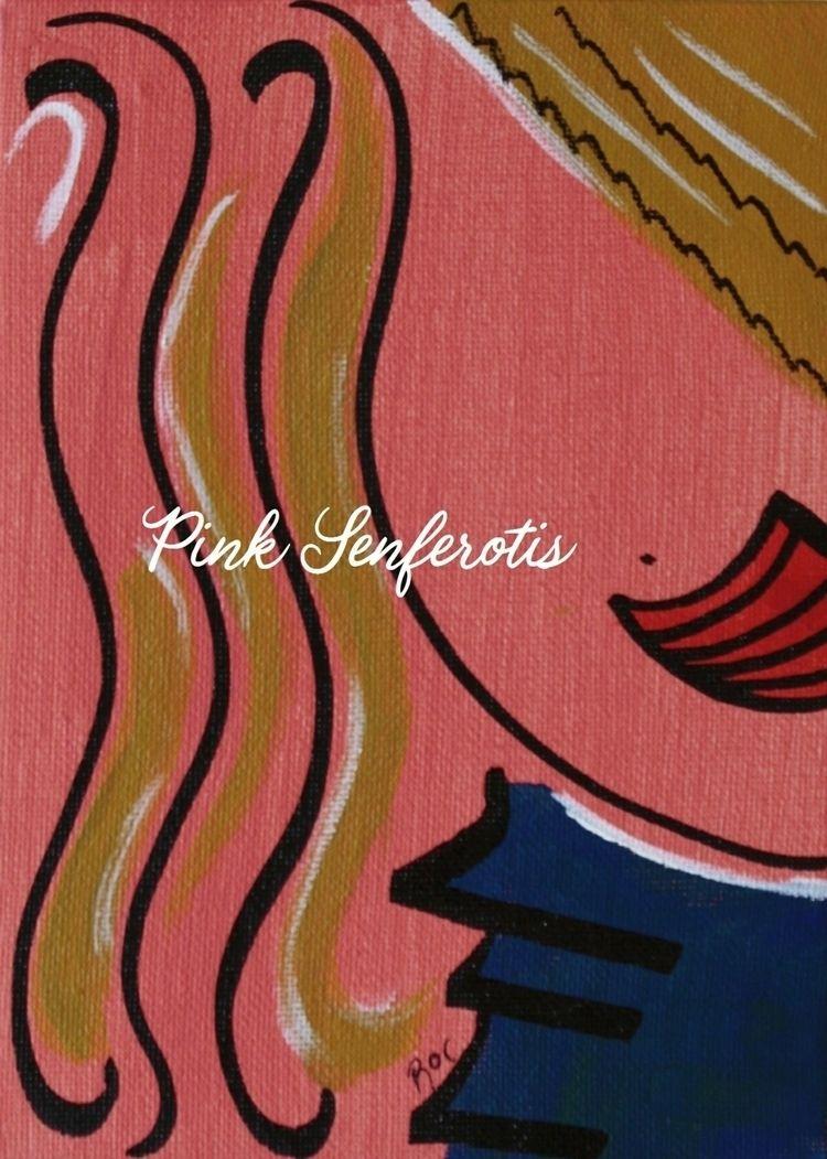 ADA - Acrylic canvas board. Ada - pink_senferotis | ello