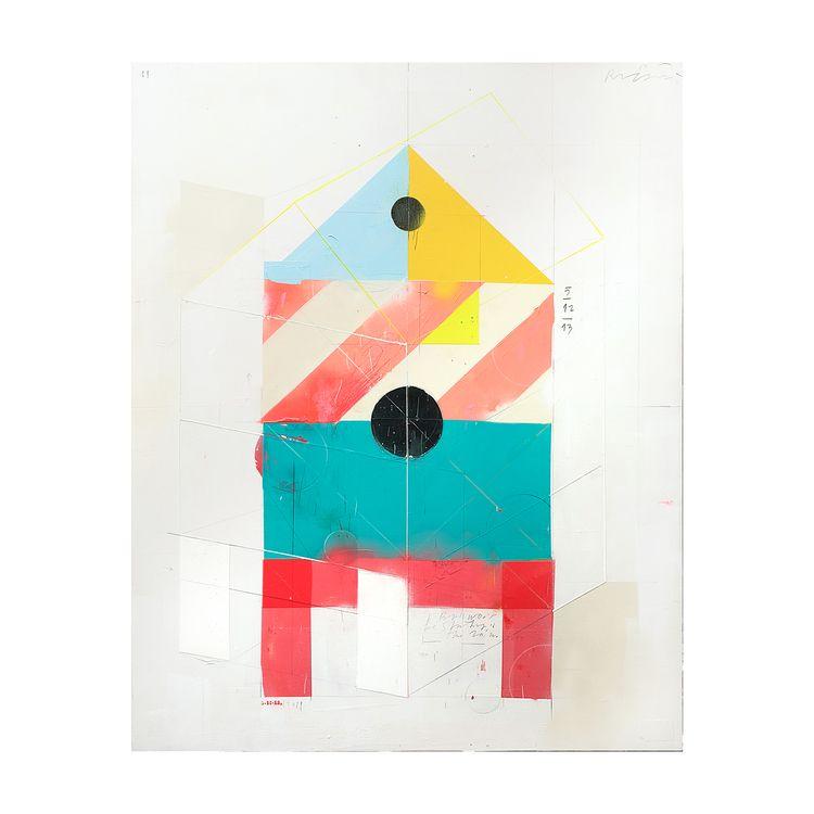 Birdhouse/04/08/2019' 81x100cm  - aruizvillar | ello