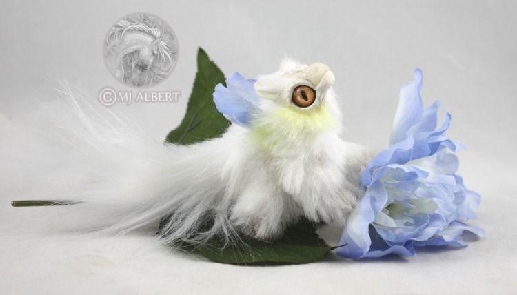 Mini Poseable Flower Dragon Hat - mjalbertsculpts | ello