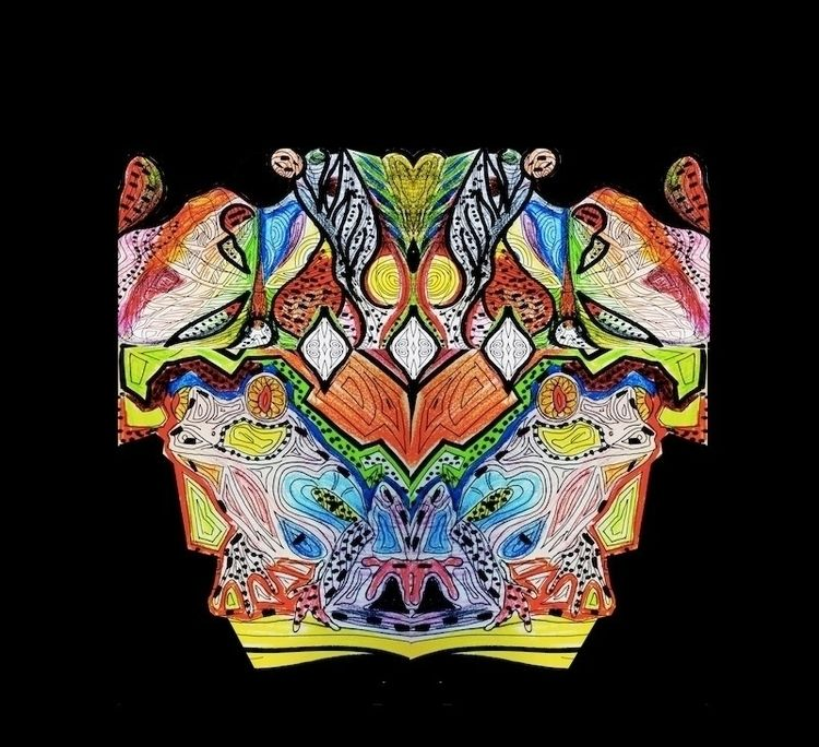 Psychedelic Mind - abstract, abstractart - ricardo-fanfan | ello