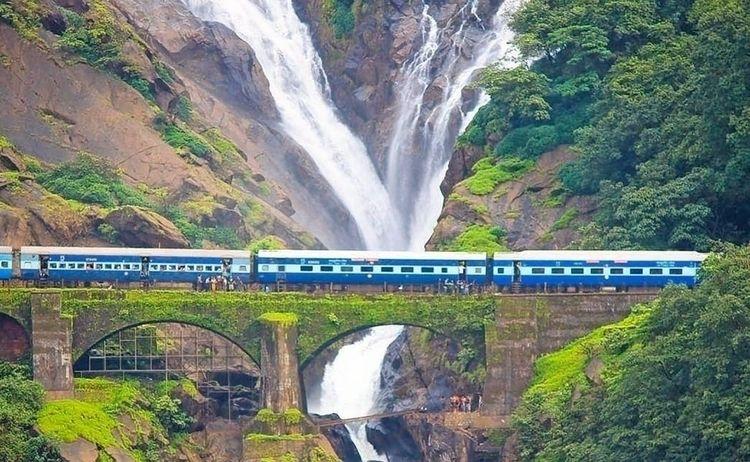 Dudhsagar Waterfall Goa waterfa - grisellanderson | ello