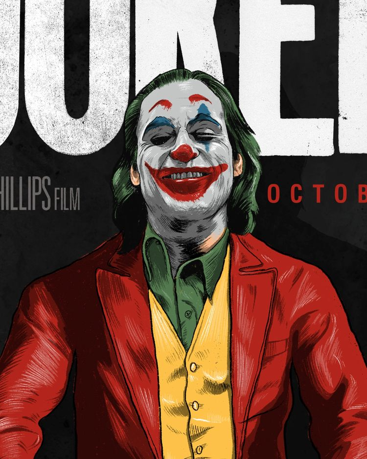 Joker- Alternative Movie Poster - thecommas | ello