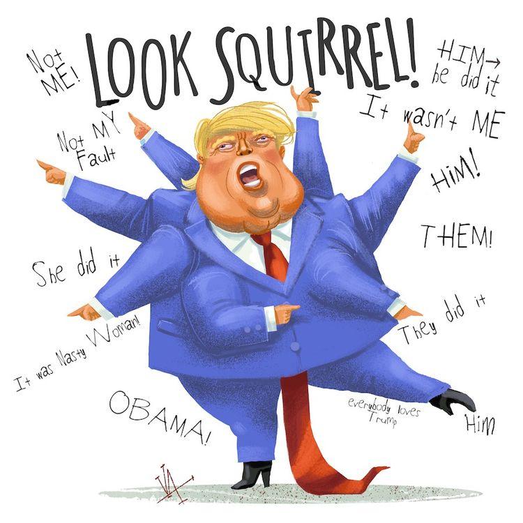 Heh, SUPER fun  - Trump, traitor - vawalker | ello