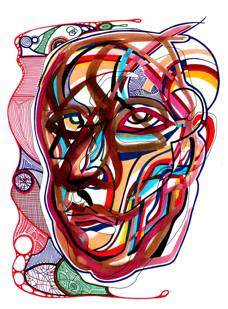 Careful Analysis - head study W - robert_bentley | ello