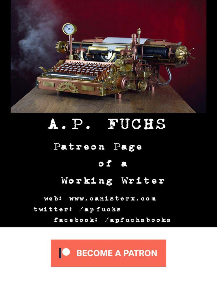 designed promote Patreon page b - apfuchs | ello