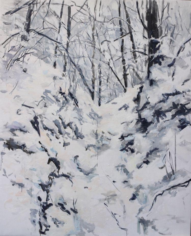 Path Fit Deer, oil canvas, 2019 - rutavm | ello