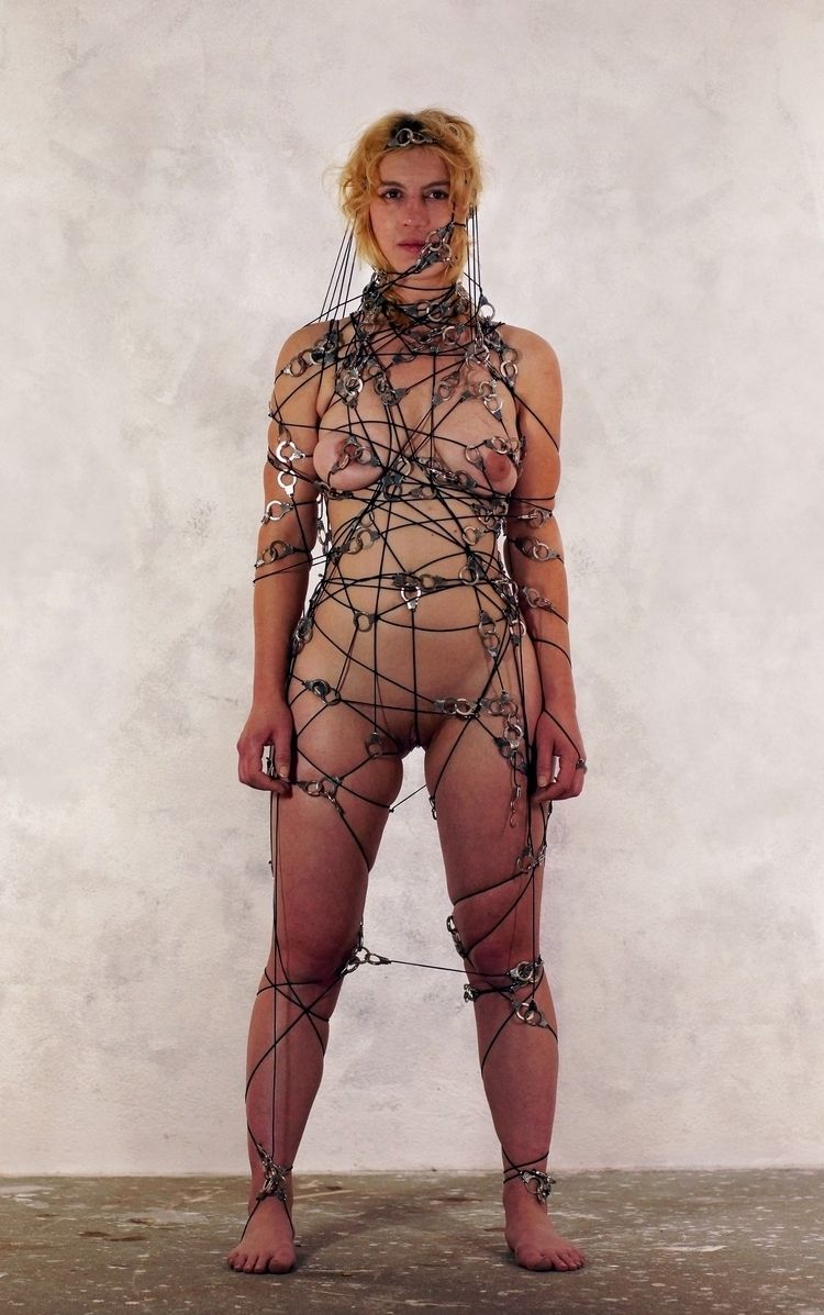 Handcuffsdress black 0025 model - frango_artist   ello