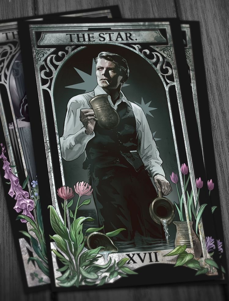 Commissioned tarot card design  - jeremykiraly | ello