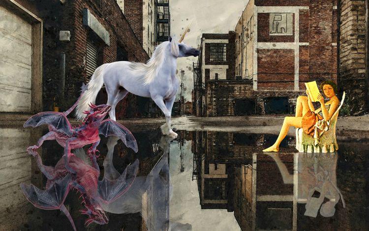 Fantasy Reader collection calle - paulwhiteauthor   ello