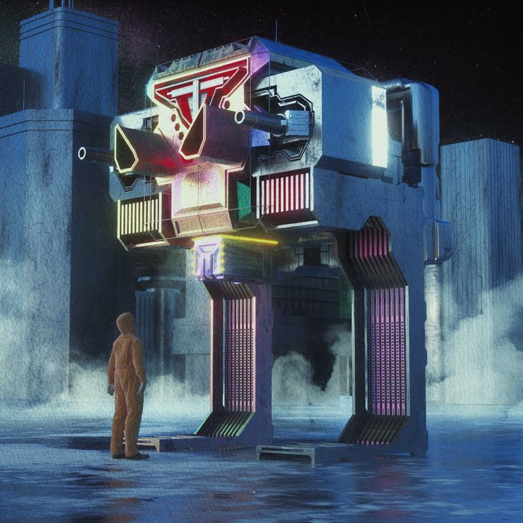 BORG BOX - 3d, c4d, cinema4d, scifi - hxg | ello