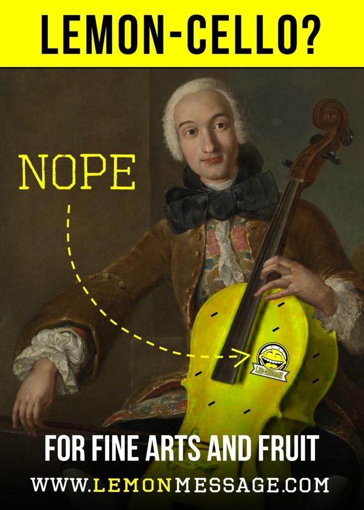 arts, lemon, cello - lem-message   ello