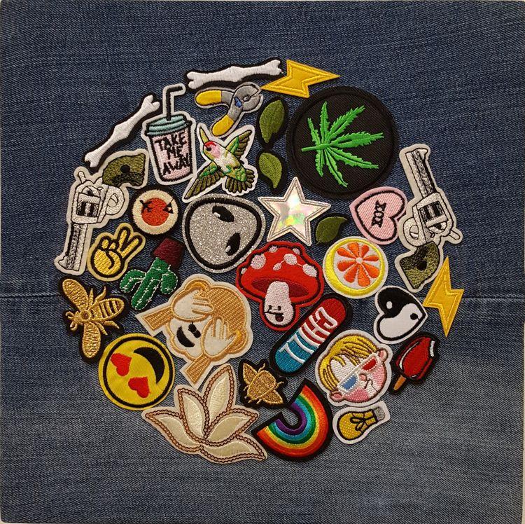 Duel - 12 2 embroidery patches - markbueno | ello
