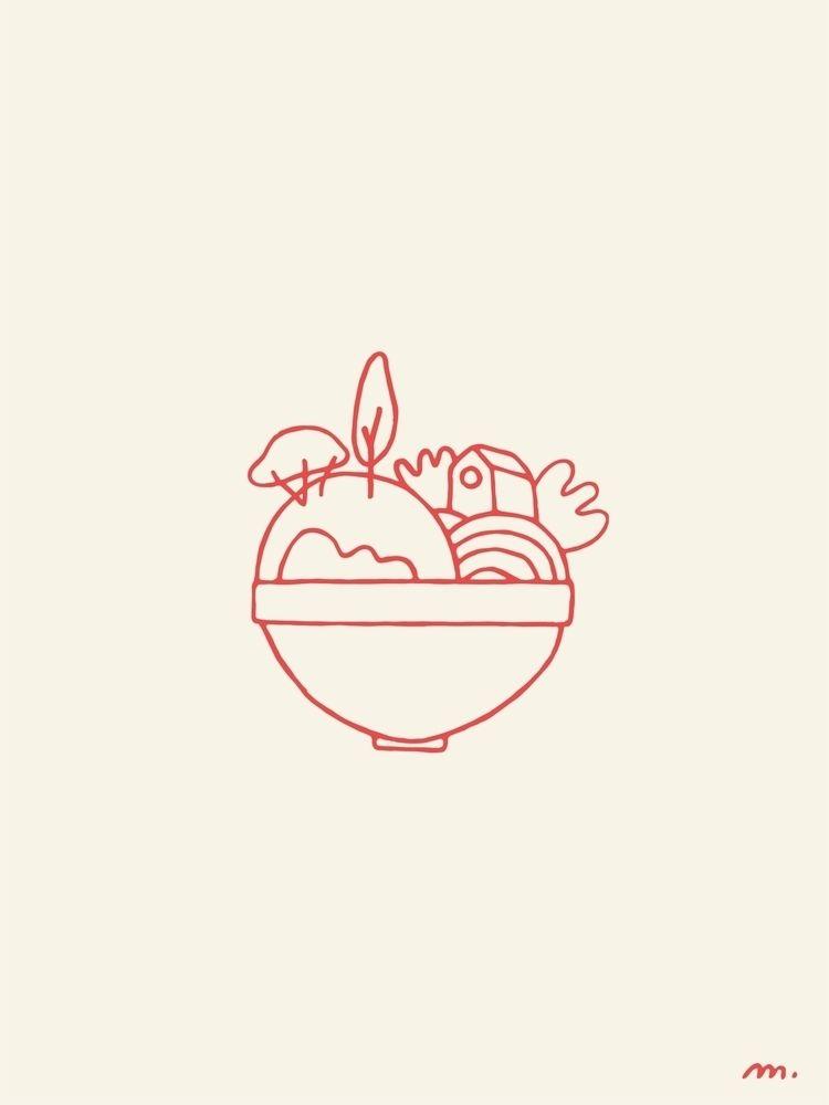 Sunny Side Project  - illustration - marielemaistre   ello