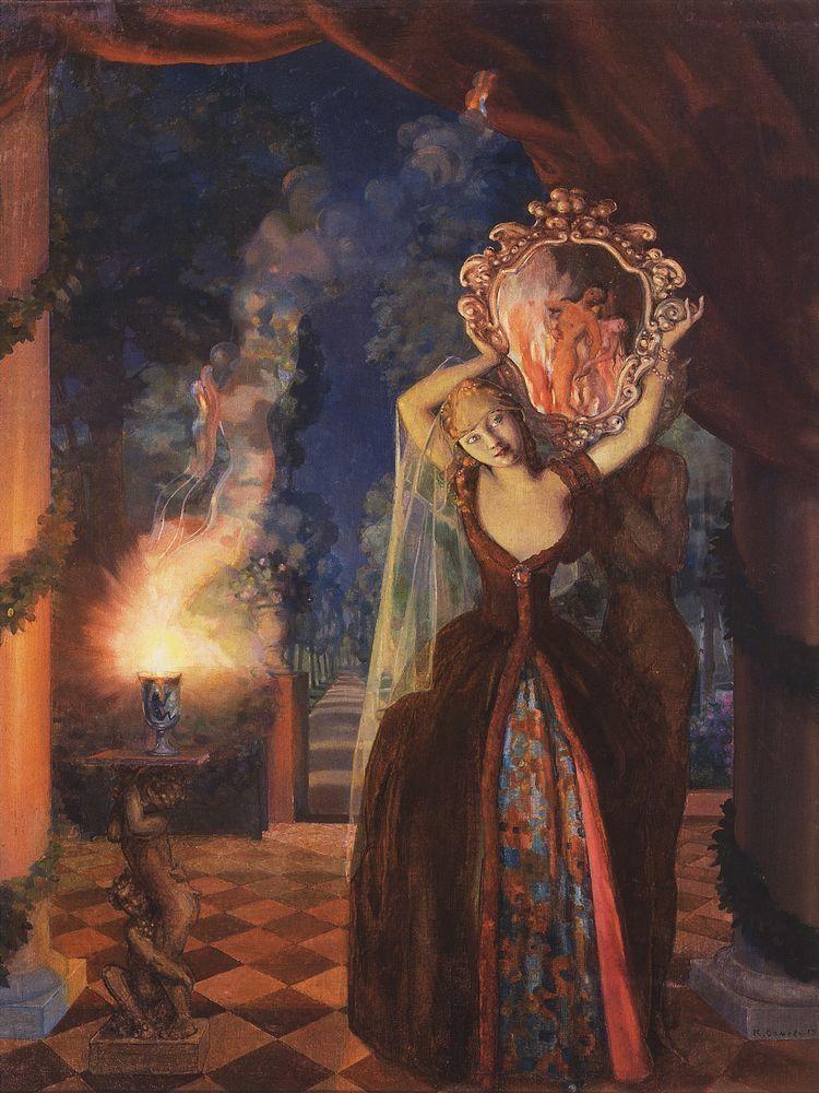 Konstantin Somov: Enchantress,  - arthurboehm | ello