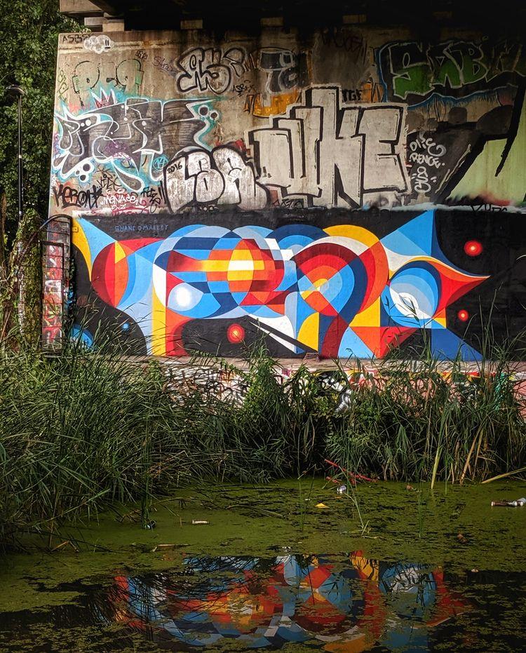 Painted Amsterdam, good times - streerart - shaneomalleyart   ello