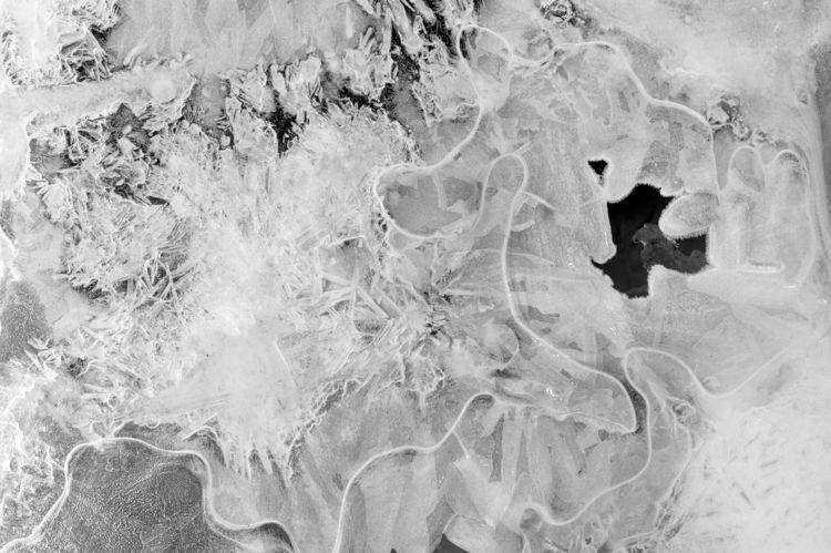 Ice textures Sanctuary River De - lwpetersen | ello