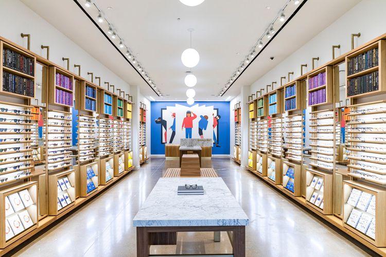 OPEN BOOK Mural Warby Parker, S - sebastiankoenig | ello