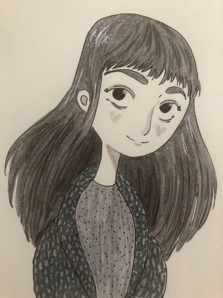 Long time drawing lot small ske - wildflower86 | ello