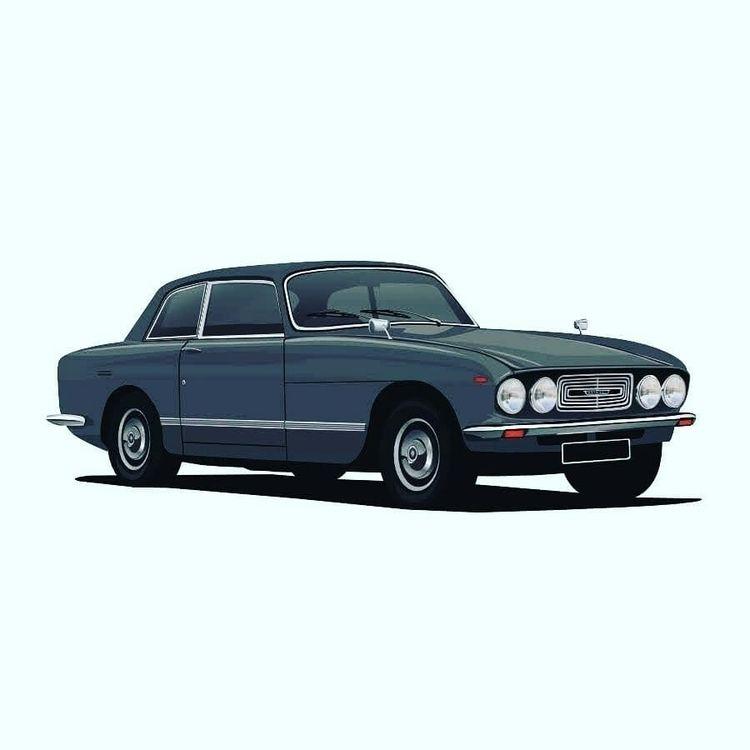 British classic car ftom 70s. B - kaimetsavainio | ello