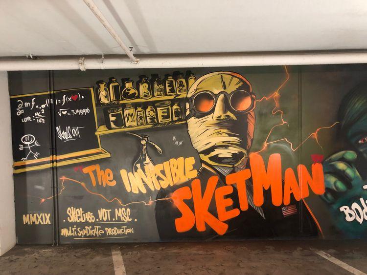 Invisible Sketman, Ede Pathé 20 - sket185 | ello
