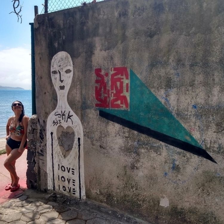 Ilhabela, SP - postgraffiti, urbanart - tomwrayart | ello