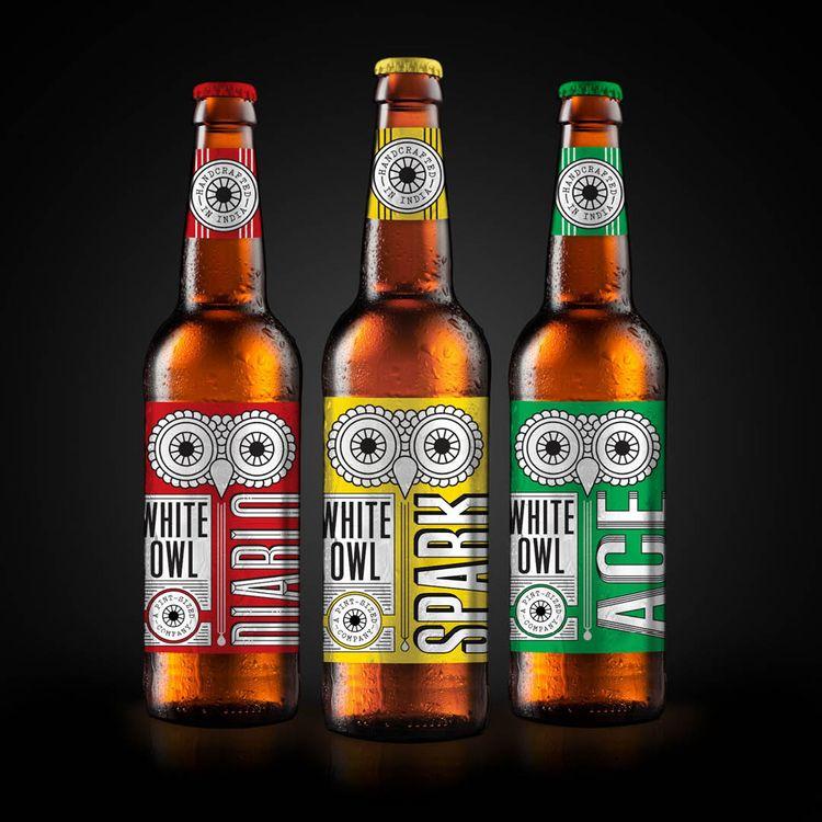 Beer bottle labels favourite Be - proxidesign   ello