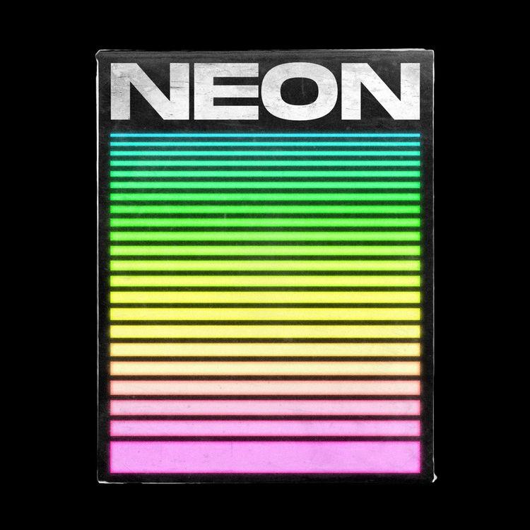 NEON → Poster theme stickers po - tuomodesign   ello